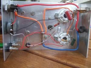 Bild 7. Das Erprobungsgerät von unten.