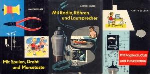 Bild 1: Die drei erfolgreichen Technik-Kinderbücher von Martin Selber haben viel junge Leute zur Funktechnik gebracht.