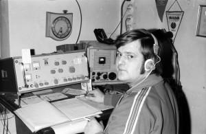 Bild 7: OM Peter Tautz, damals mit dem Rufzeichen DM3NWG, hat noch lange versucht, die Klubstation in Domersleben am Leben zu halten (Bild aus den 1970er-Jahren).